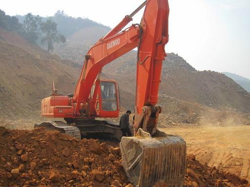 大宇220-5挖掘机小臂动作慢