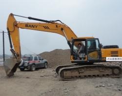 挖掘机掉速
