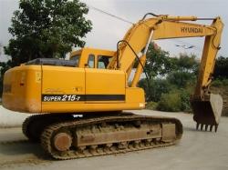现代液压挖掘机无回转
